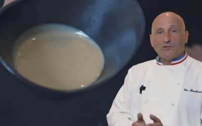 La crème de sésame : la touche du chef Bouchenoire