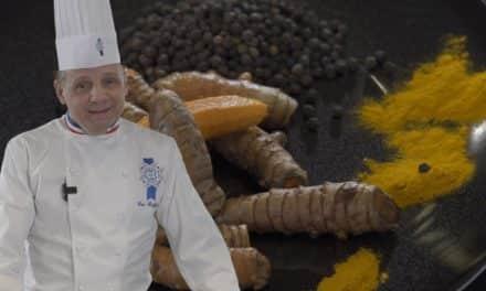Turmeric: Chef's Briffard touch